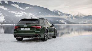 2018 Audi RS4 Avant в Швейцарских Альпах