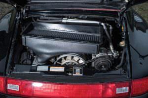 Двигатель 3,6-литра V6 Porsche 991 Turbo Cabriolet 1995 года