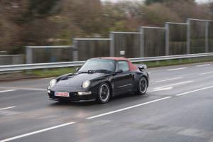 Редкий экземпляр Porsche 991 Turbo Cabriolet 1995 года