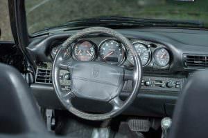 Фото салона Porsche 993 Turbo Cabriolet 1995 года