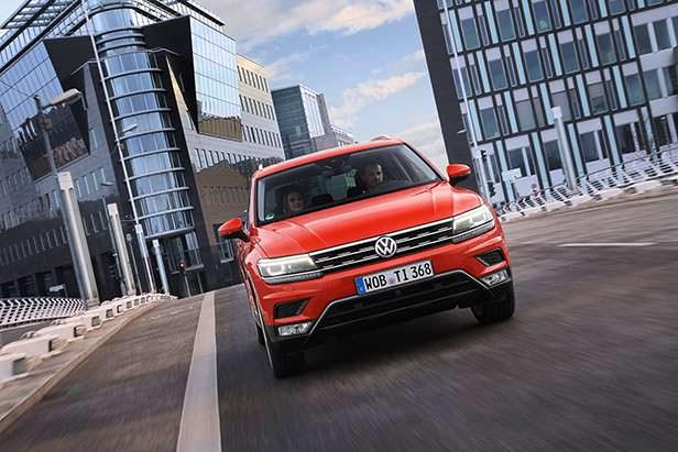 Производство Volkswagen Tiguan за 2017 год: около 750 000 штук