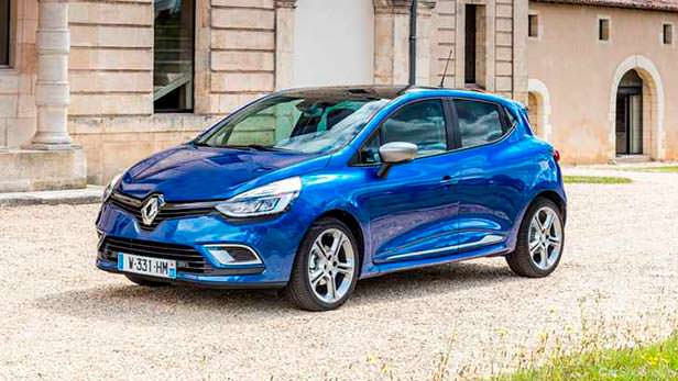 Renault Clio - самый продаваемый субкомпакт Европы 2017 г.