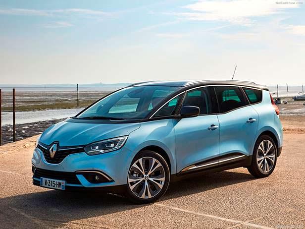 Renault Scenic - ТОП-10 самых продаваемых автомобилей Европы