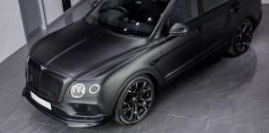 Bentley Bentayga в тюнинге от Wheelsandmore