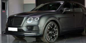 Тюнингованный Bentley Bentayga от Wheelsandmore