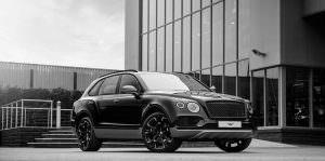 Чёрный матовый Bentley Bentayga. Тюнинг от Wheelsandmore