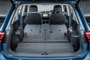Багажник Volkswagen Tiguan Allspace: вместительность 1775 л.