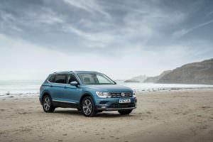 Семиместный Volkswagen Tiguan Allspace 2018