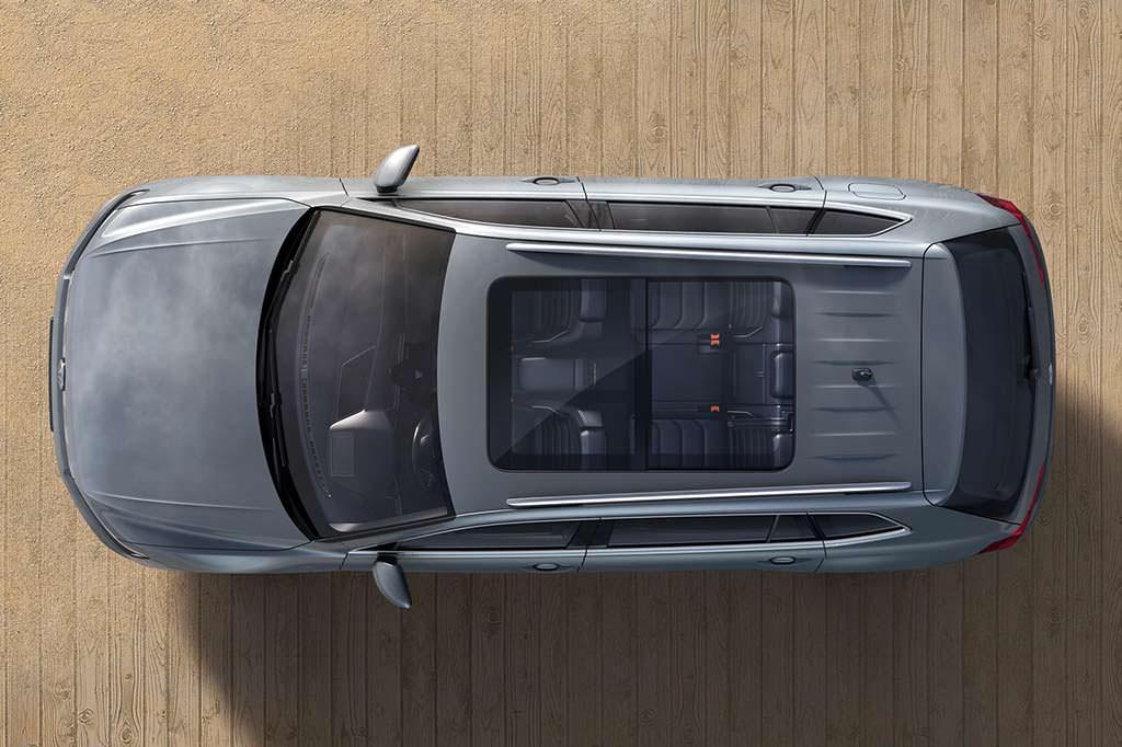Панорамная крыша Volkswagen Tiguan Allspace 2018