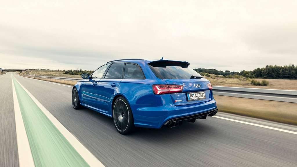 Самая быстрая Audi RS6 Avant Performance Nogaro Edition