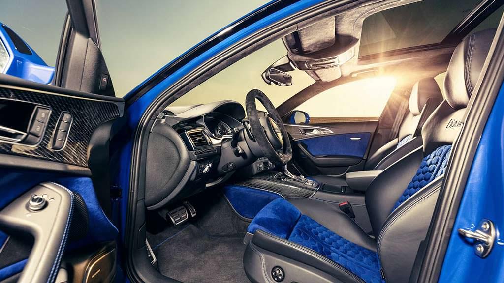 Фото салона Audi RS6 Avant Performance Nogaro Edition