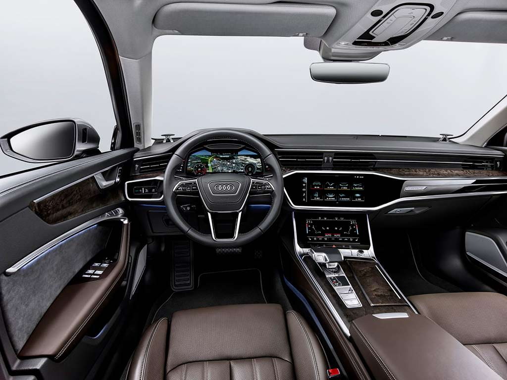 Фото салона Audi A6 2019