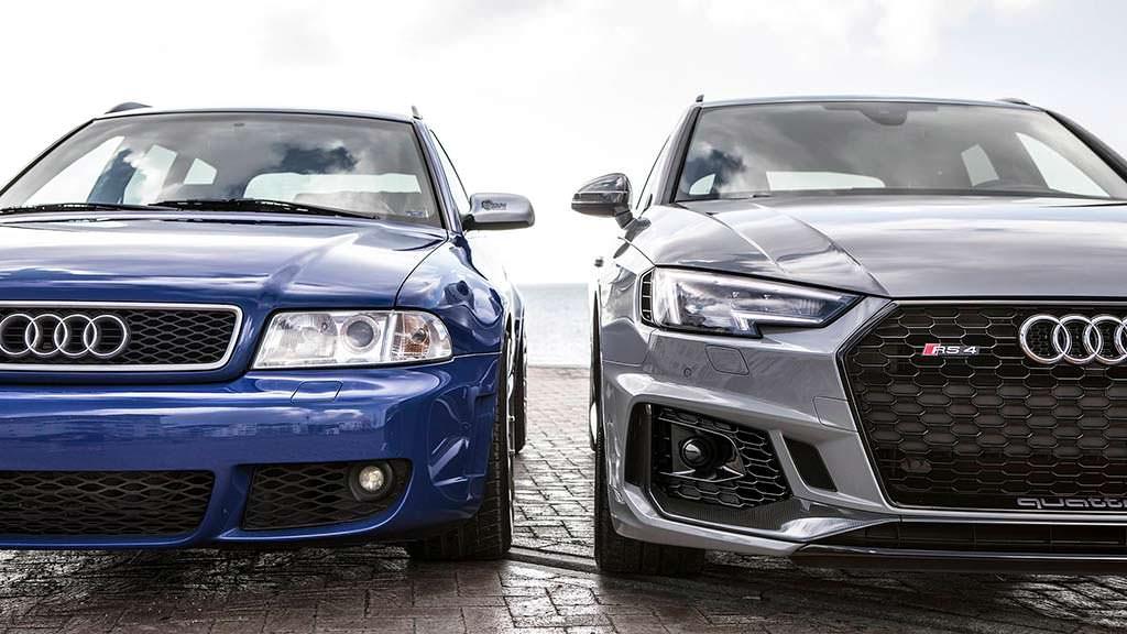 Эволюция Audi RS4 Avant за 17 лет