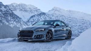 Фото Audi RS5-R в Австрийских Альпах