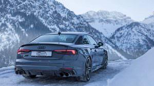 Фото-тур Audi RS5-R в Австрийские Альпы