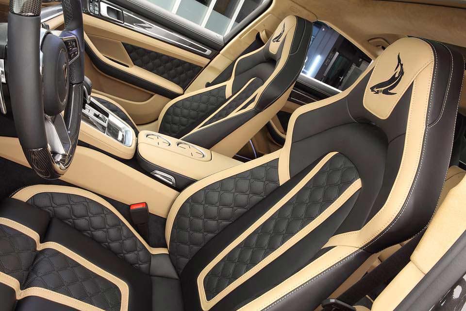 Фото внутри Porsche Panamera Turbo S E-Hybrid от TopCar