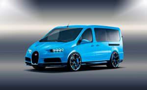 Минивэн Bugatti