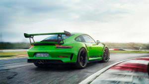 Обновленная Porsche 911 GT3 RS 2018 года