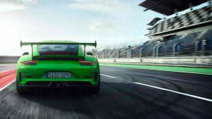 Новая Porsche 911 GT3 RS 2018