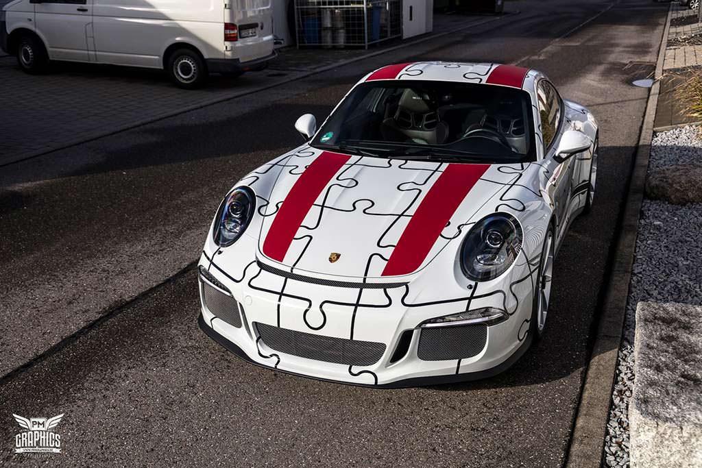 Porsche 911 R в виниле от Quirky Wrap