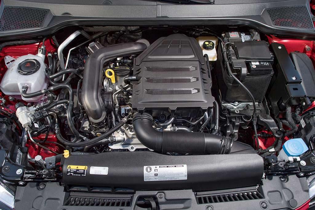 Двигатель 1.0 TSI на газу под капотом SEAT Ibiza TGI 2018