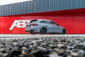 Audi RS4 Avant на 20-дюймовых дисках от ABT Sportsline