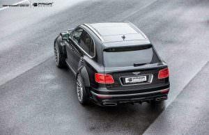 Bentley Bentayga в широком обвесе кузова PDXR от Prior Design
