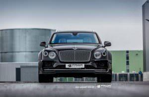 Bentley Bentayga. Тюнинг от Prior Design