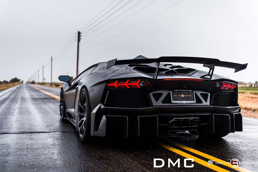 Тюнинг Lamborghini Aventador Edizione-GT Las Americas от DMC