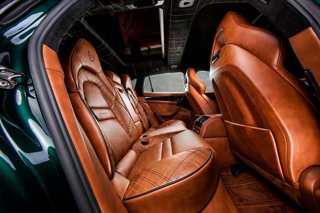 Кожаный салон Porsche Panamera Sport Turismo GrandGT от TechArt