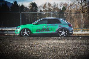 Тюнинг Volkswagen T-Roc: из кроссовера в хэтчбек