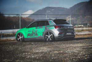 Любительский тюнинг Volkswagen T-Roc