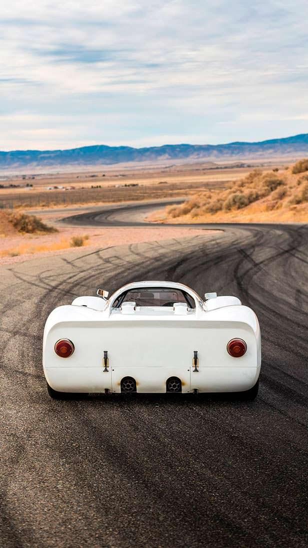 Гоночный Porsche 908 K 1968 года выпуска