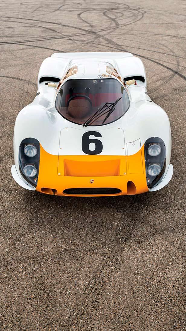 Гоночный Porsche 908 K. 1 из 5 сохранившихся до нашего времени