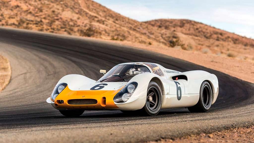 Porsche 908 K. Участник гонки 1000 км Спа 1968 года