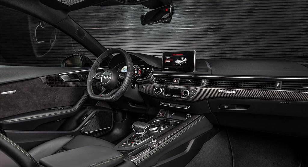 Фото салона Audi RS5 Sportback