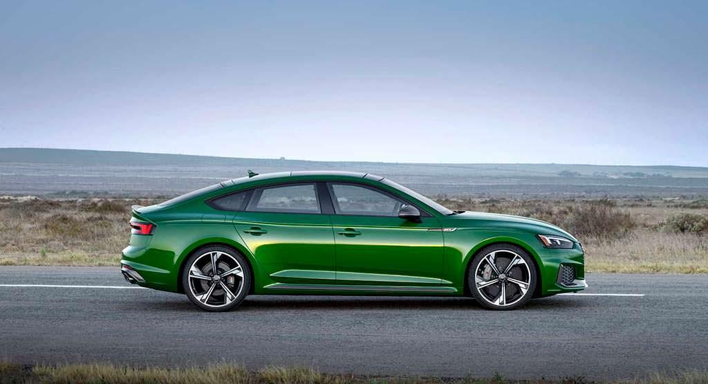 Спортивная Audi RS5 Sportback 2019