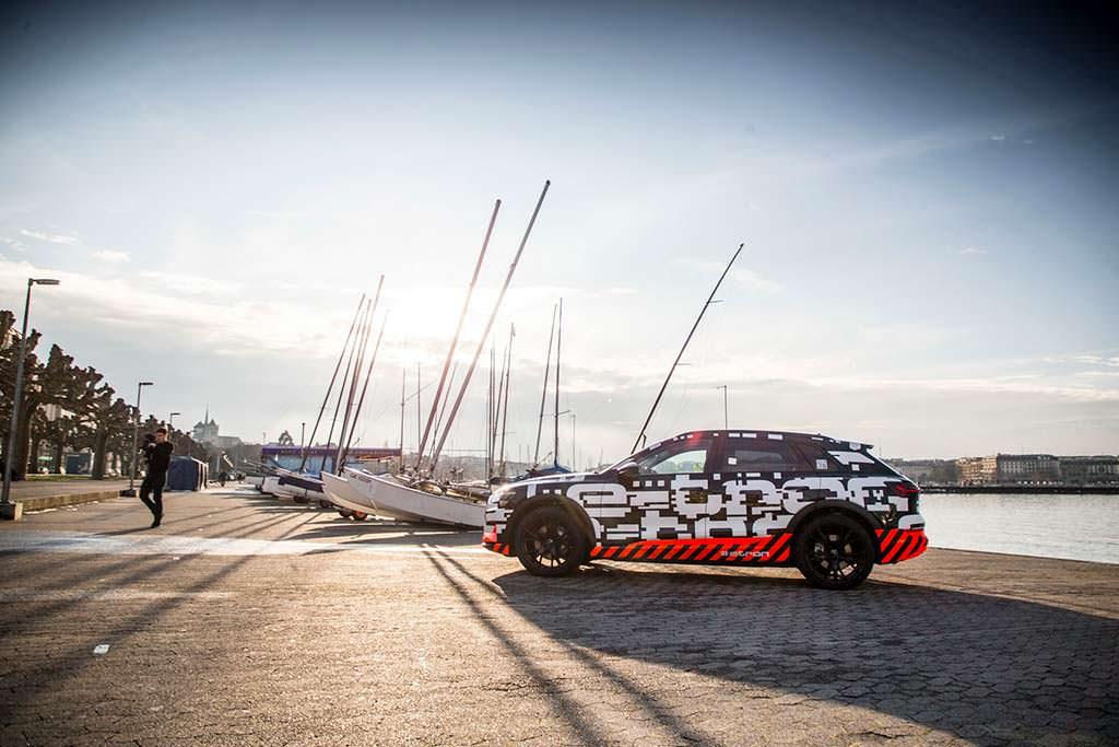 Концепт Audi E-Tron 2018 года