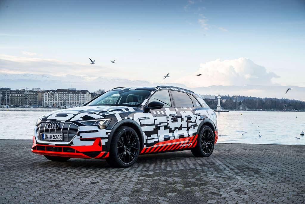 Первый электромобиль Audi E-Tron 2018 года