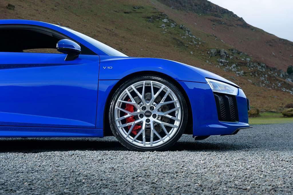 19-дюймовые колесные диски Audi R8 V10 RWS Limited Edition