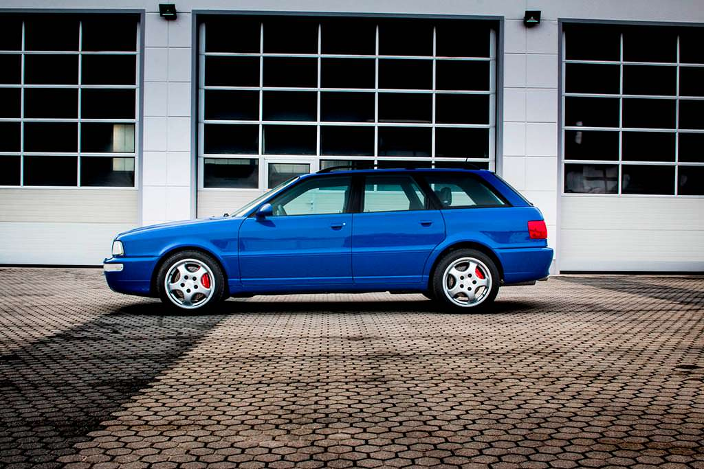 Audi RS2 Avant 1994 года. Реставрация MTM