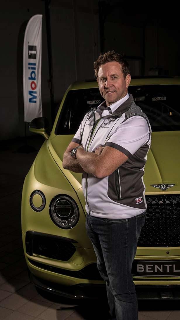 Гонщик Райс Миллен и Bentley Bentayga W12 для Пайкс-Пик