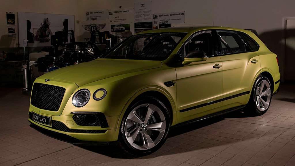 Bentley Bentayga W12 для Пайкс-Пик