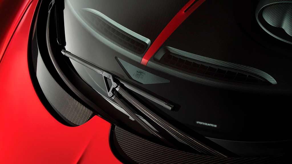 Карбоновые стеклоочистители Bugatti Chiron Sport