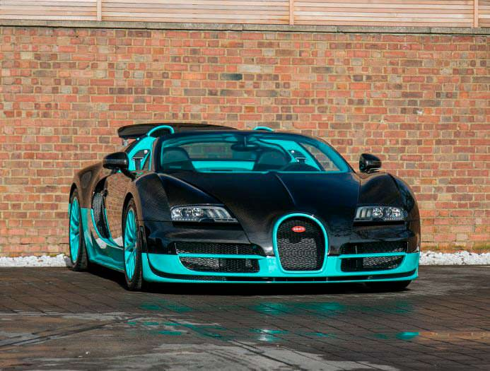 Единственный Bugatti Veyron Tiffany Edition
