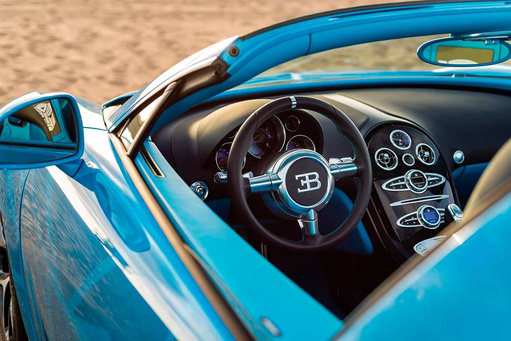 Салон Bugatti Veyron Transformers