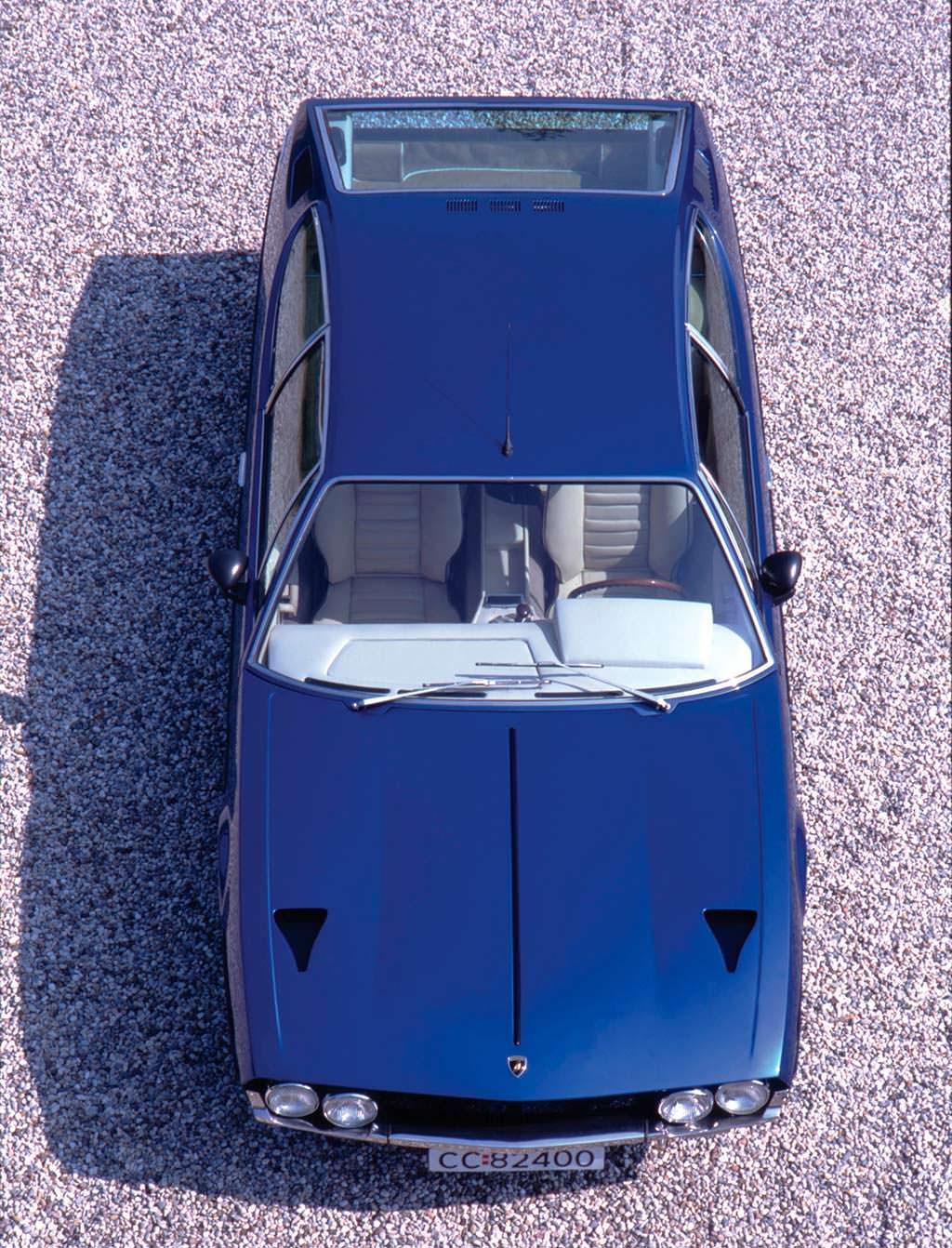 Коллекционная Lamborghini Espada