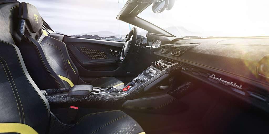 Фото салона Lamborghini Huracan Performante Spyder