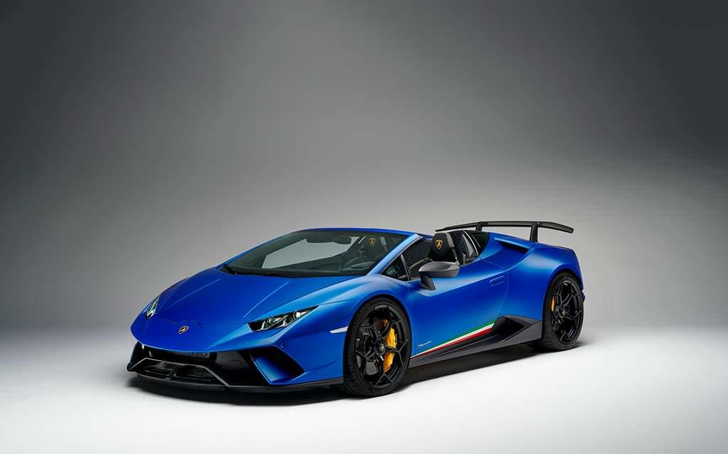 Самый быстрый Lamborghini Huracan Performante Spyder