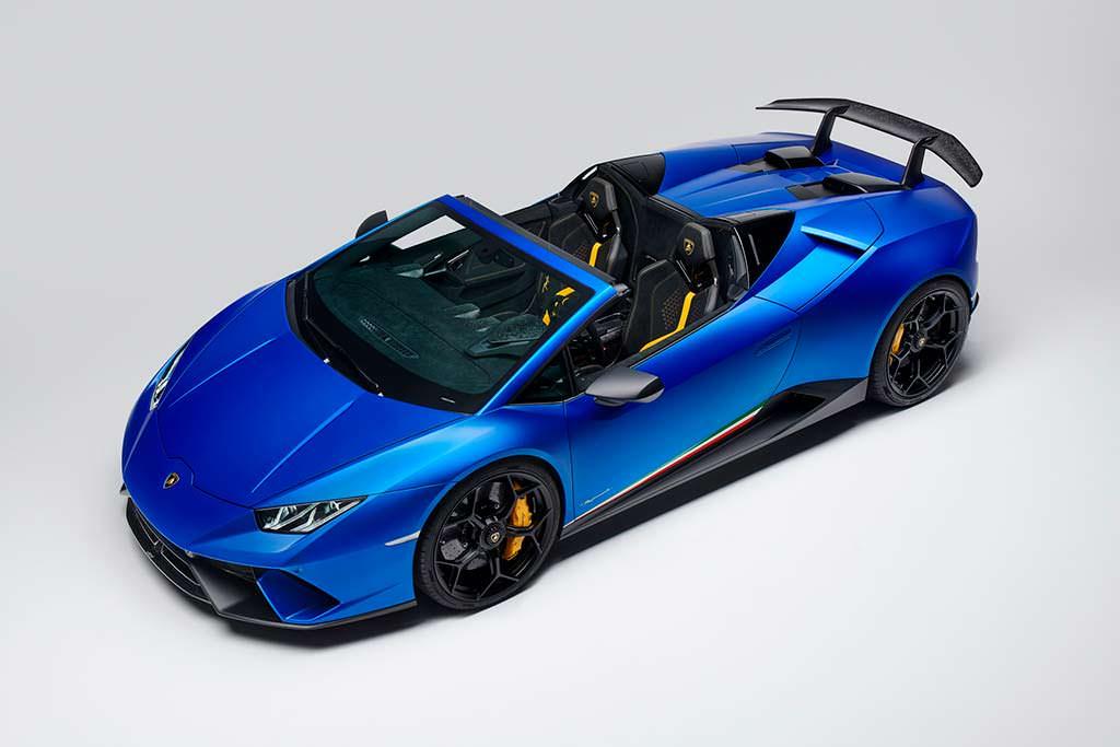 Самая крутая Lamborghini Huracan Performante Spyder